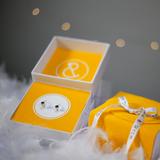 Zlaté detské náušničky bubbbles pure - biele zlato