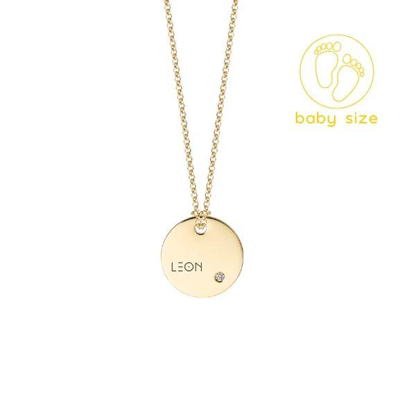 Medailón s diamantom BABY